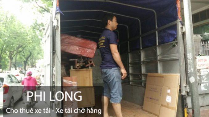 Dịch vụ cho thuê xe tải chuyển nhà giá rẻ tại phố Ngô Thì Nhậm