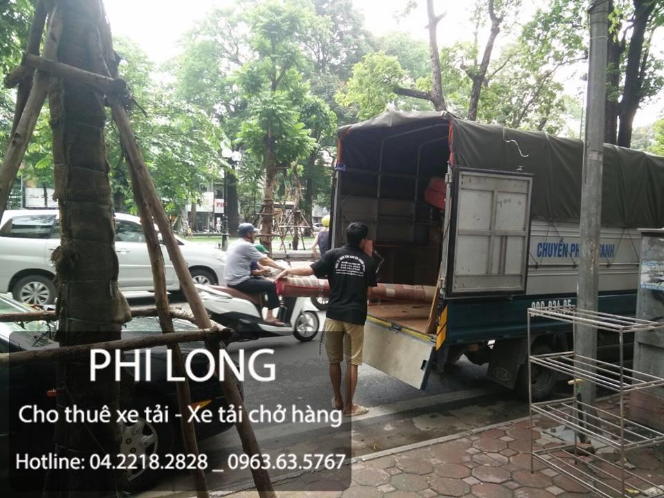 Taxi tải Phi Long tại phố Ngô Thì Nhậm