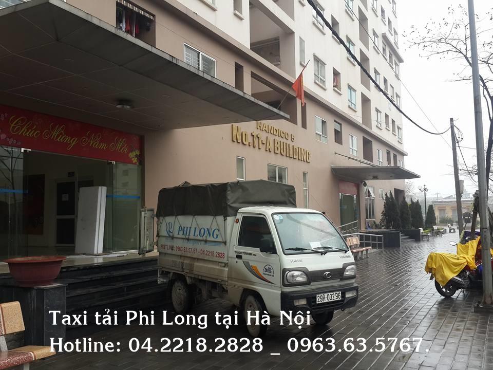 Dịch vụ cho thuê xe tải giá rẻ Phi Long tại phố Đặng Tiến Đông