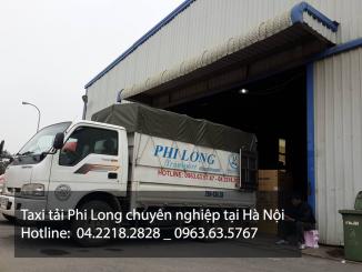 Taxi tải Phi Long tại phố Chính Kinh