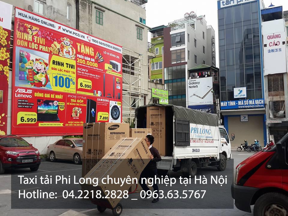 Taxi tải Phi Long chuyên nghiệp giá rẻ tại Hà Nội