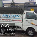 Cho thuê xe tải giá rẻ nhất tại phố Tô Hiệu