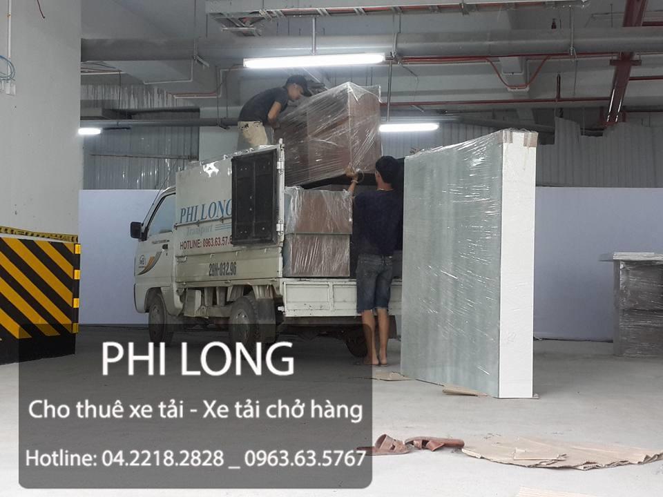 Cho thuê xe tải chuyển nhà trọn gói tại phố Tô Hiệu