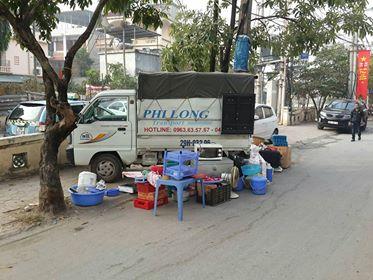 Cho thuê xe tải uy tín nhất tại phố Trần Điền