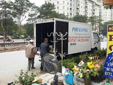 Cho thuê xe tải chuyên nghiệp tại phố Hoàng Văn Thái