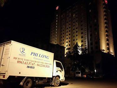 Dịch vụ vận tải Phi Long cho thuê xe tải giá rẻ tại phố Nguyễn Hữu Thọ