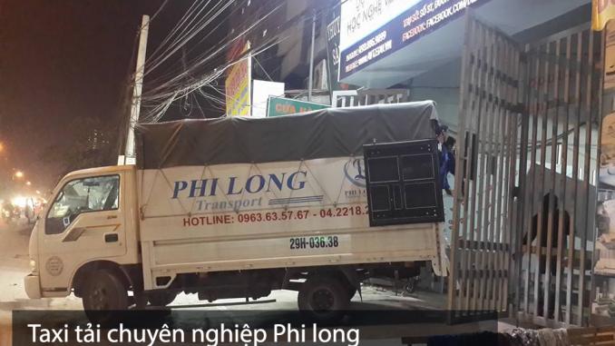 Phi Long cho thuê xe tải giá rẻ tại phố Nguyễn Văn Lộc