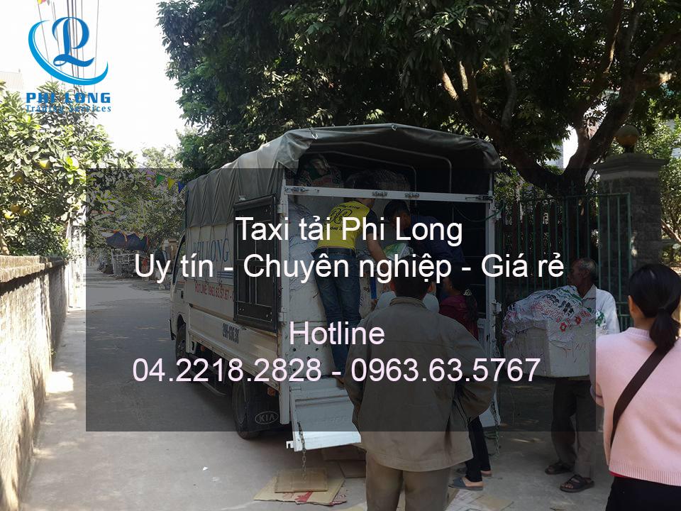Dịch vụ cho thuê xe tải tại phố Bùi Xương Trạch