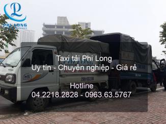 Cho thuê xe tải giá rẻ tại huyện Ba Vì của Phi Long