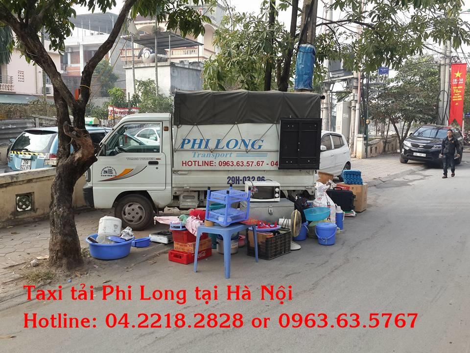 Cho thuê xe tải Phi Long tại quận Hoàng Mai