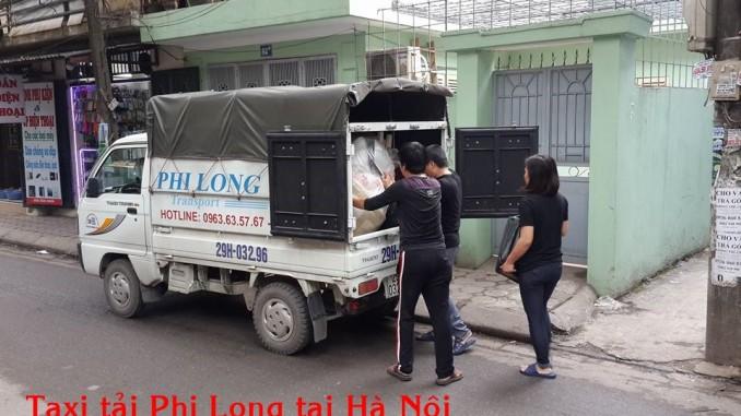 Cho thuê xe tải giá rẻ tại quận Cầu Giấy Phi Long