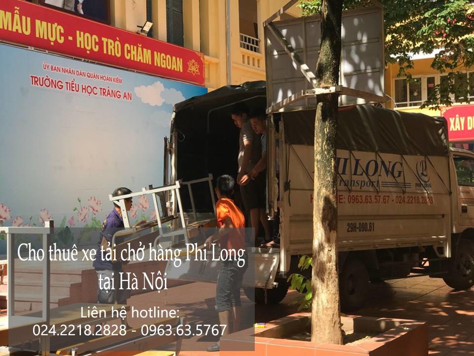 Taxi tải Hà Nội tại phố Hàng Hòm