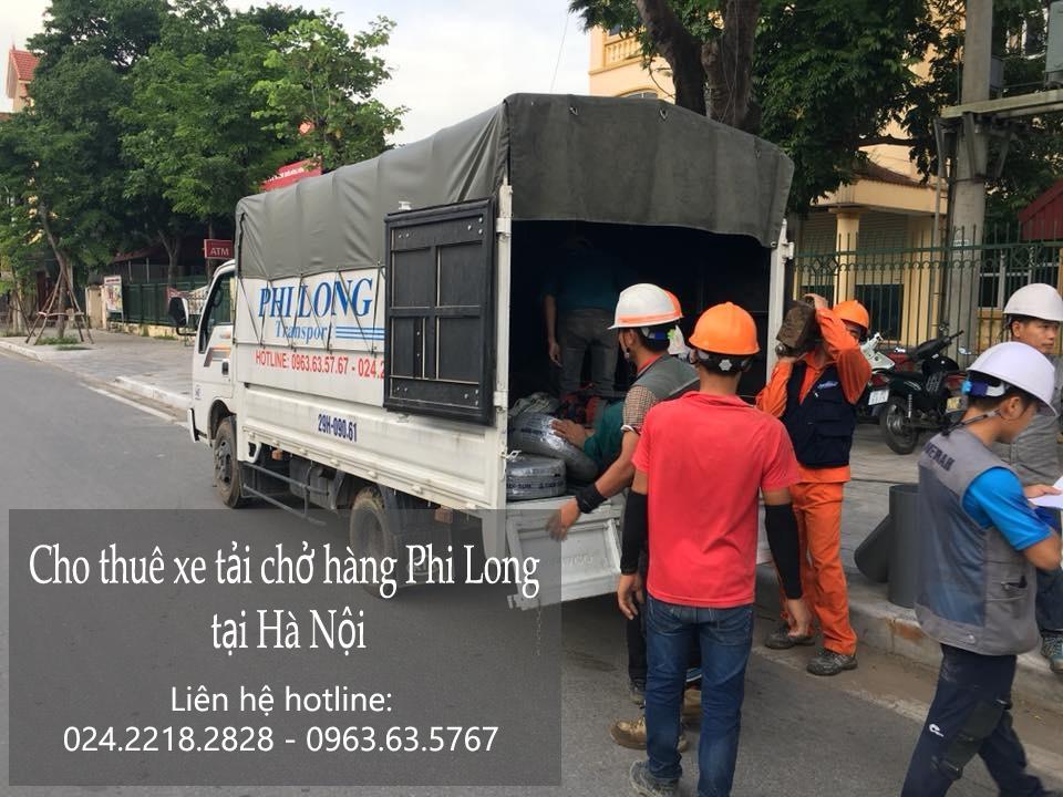 Dịch vụ xe taxi tải Hà Nội tại phố Nguyễn Như Đổ