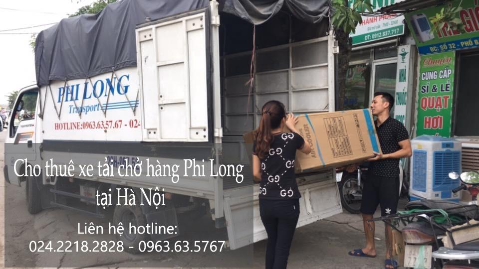 Taxi tải Hà Nội tại phố Hàng Vôi