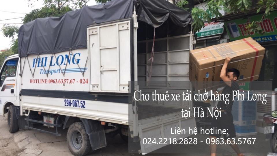 Taxi tải Hà Nội tại phố Trường Lâm