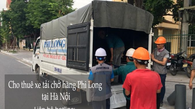 Taxi tải Hà Nội tại phố Đồng Xuân