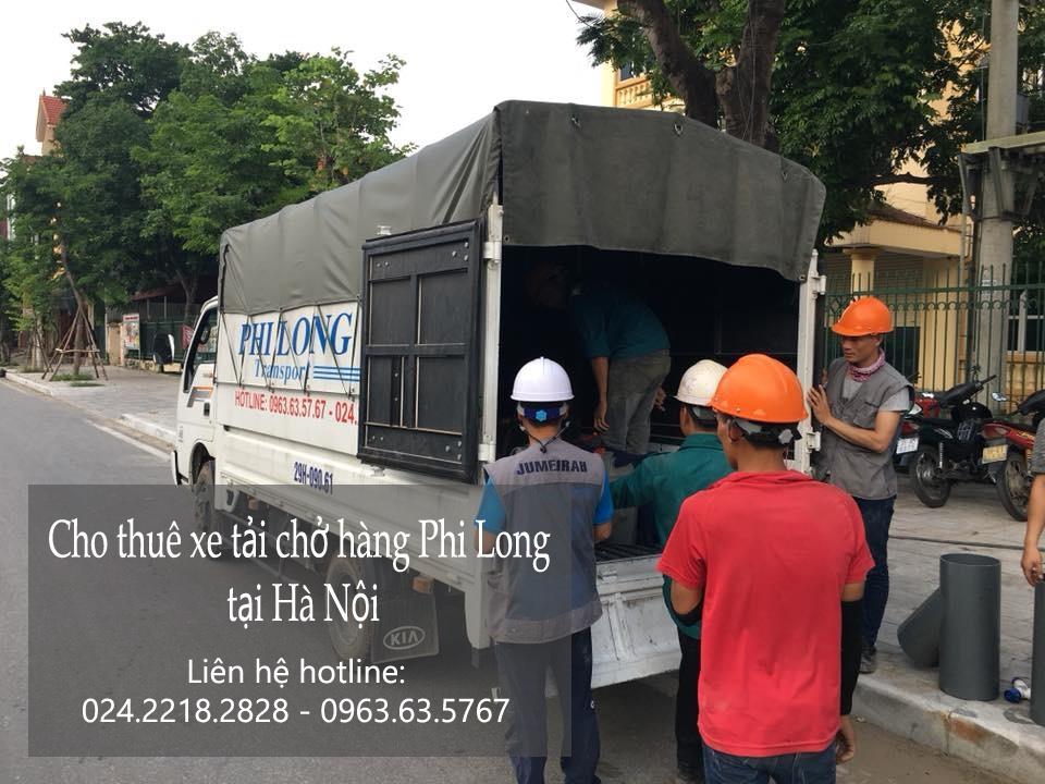 Taxi tải Hà Nội tại phố Gầm Cầu