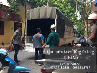 Dịch vụ taxi tải Hà Nội tại phố Phúc Xá
