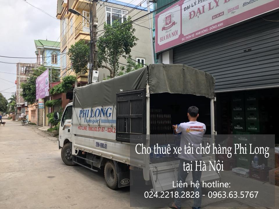 Dịch vụ taxi tải Hà Nội tại phố Mai Động
