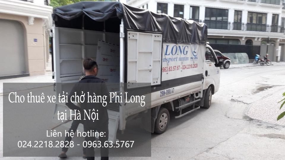 Dịch vụ taxi tải Hà Nội tại phố Bưởi