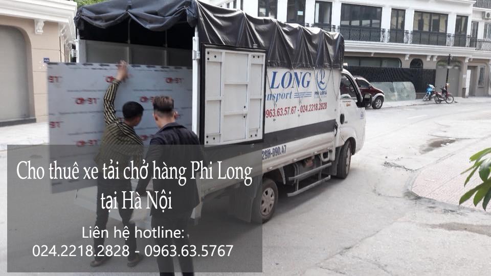 Dịch vụ taxi tải Hà Nội tại phố Thọ Tháp
