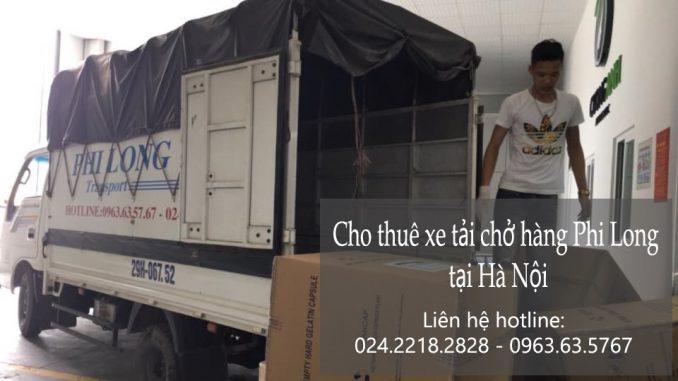 Dịch vụ taxi tải Hà Nội tại phố Phan Văn Đáng