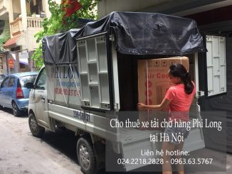 Dịch vụ taxi tải Hà Nội tại phố Lạc Chính