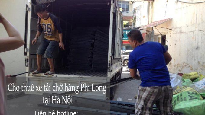Dịch vụ taxi tải Hà Nội tại phố Trấn Vũ