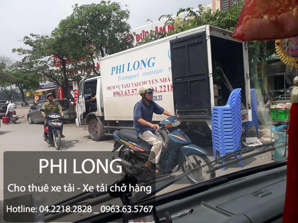 Dịch vụ cho thuê xe tải chuyển nhà trọn gói tại phố Tây Sơn