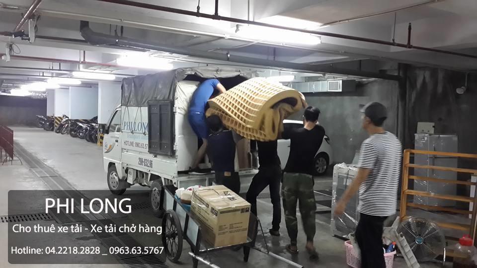 Cho thuê xe tải giá rẻ chuyên nghiệp tại phố Trần Quang Diệu