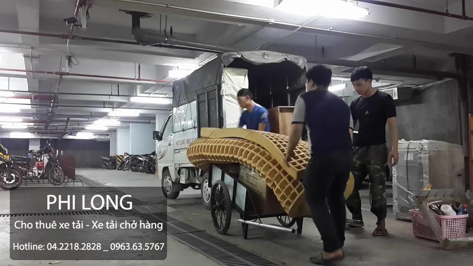 Dịch vụ cho thuê xe tải tại phố Đặng Tiến Đông