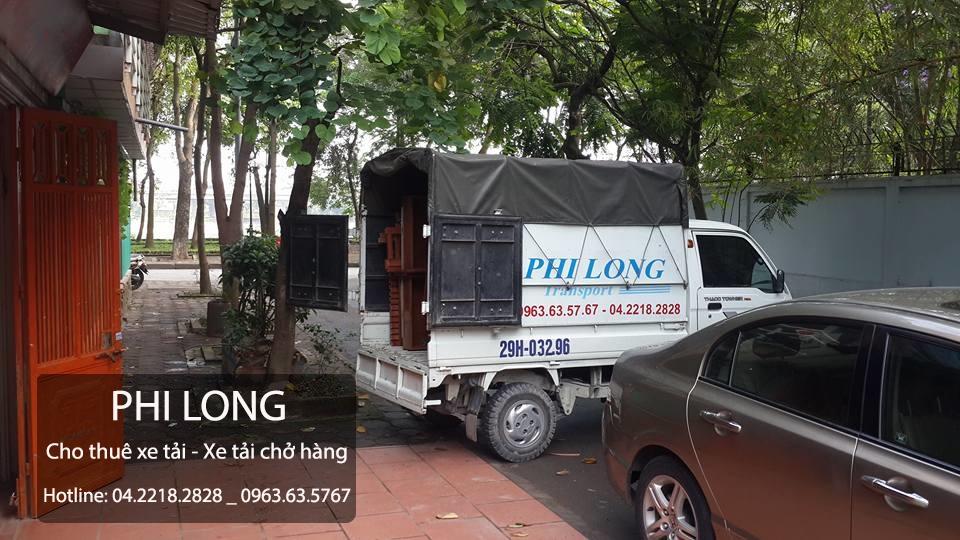 Cho thuê xe tải giá rẻ tại phố Thái Thịnh