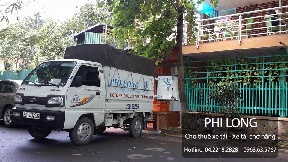 Taxi tải Phi Long cho thuê xe tải giá rẻ tại phố Thái Thịnh
