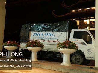 Chuyển nhà cho thuê xe tải Phi Long tại phố Thái Hà