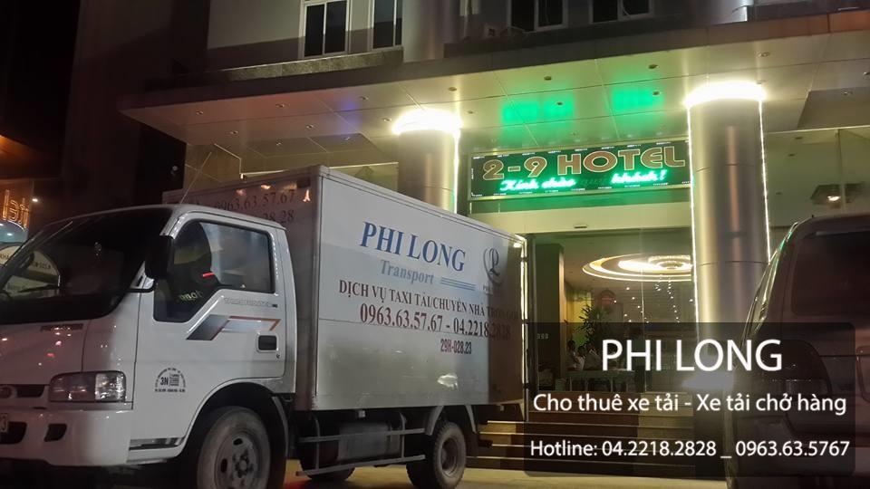 Cho thuê xe tải giá rẻ tại phố Thái Hà