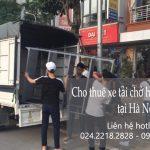 Dịch vụ taxi tải Hà Nội tại phố Cự Lộc