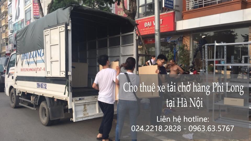 Dịch vụ taxi tải Hà Nội tại phố Yên Bình