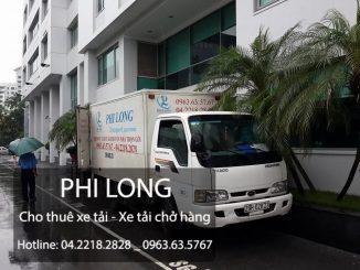 Taxi tải Phi Long cho thuê xe tải chở hàng giá rẻ tại phố Văn Quán