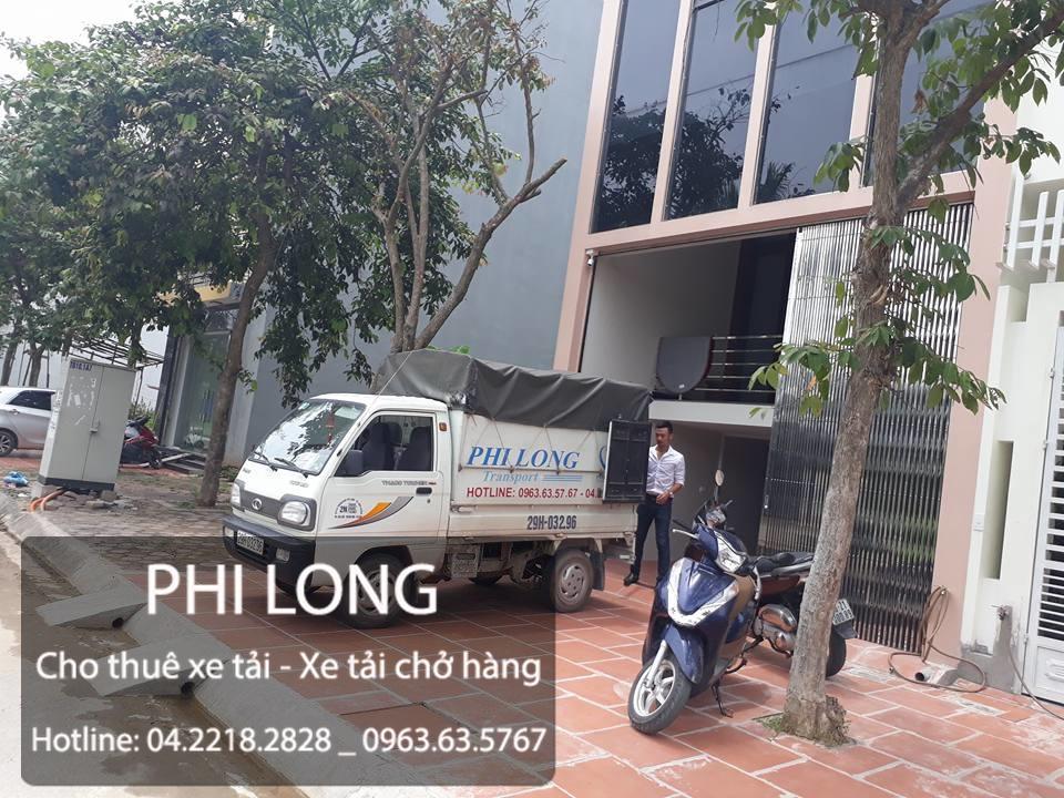Cho thuê xe tải chở hàng giá rẻ chuyên nghiệp tại phố Văn Quán