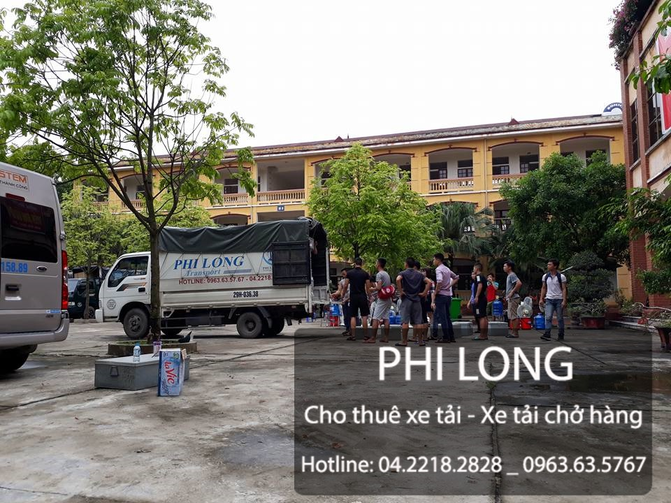 Dịch vụ cho thuê xe tải chở hàng tại phố Lương Thế Vinh