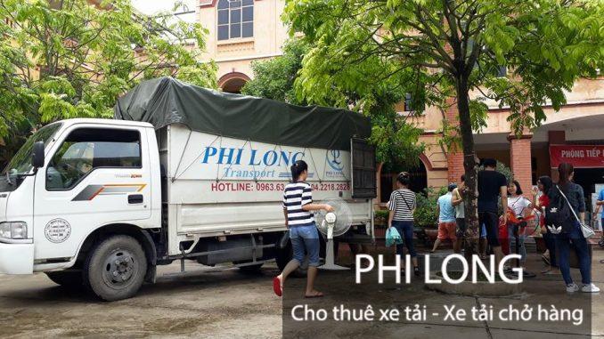 Phi Long cho thuê xe tải chở hàng giá rẻ chuyên nghiệp tại phố Nguyễn Viết Xuân