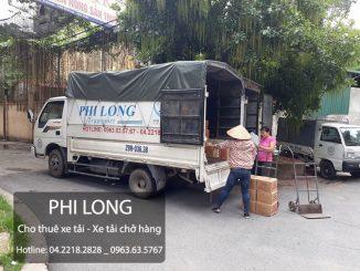 Phi Long cho thuê xe tải chở hàng tại phố Lương Thế Vinh