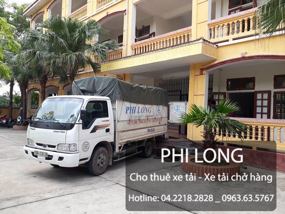 Taxi tải Phi Long cho thuê xe tải chở hàng giá rẻ tại phố Triều Khúc