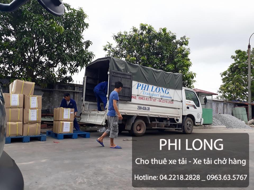 Phi Long hãng cho thuê xe tải chở hàng tại phố Hoàng Đạo Thành