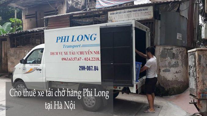 Dịch vụ cho thuê taxi tải Hà Nội tại phố Đặng Vũ Hỷ-0963.63.5767.