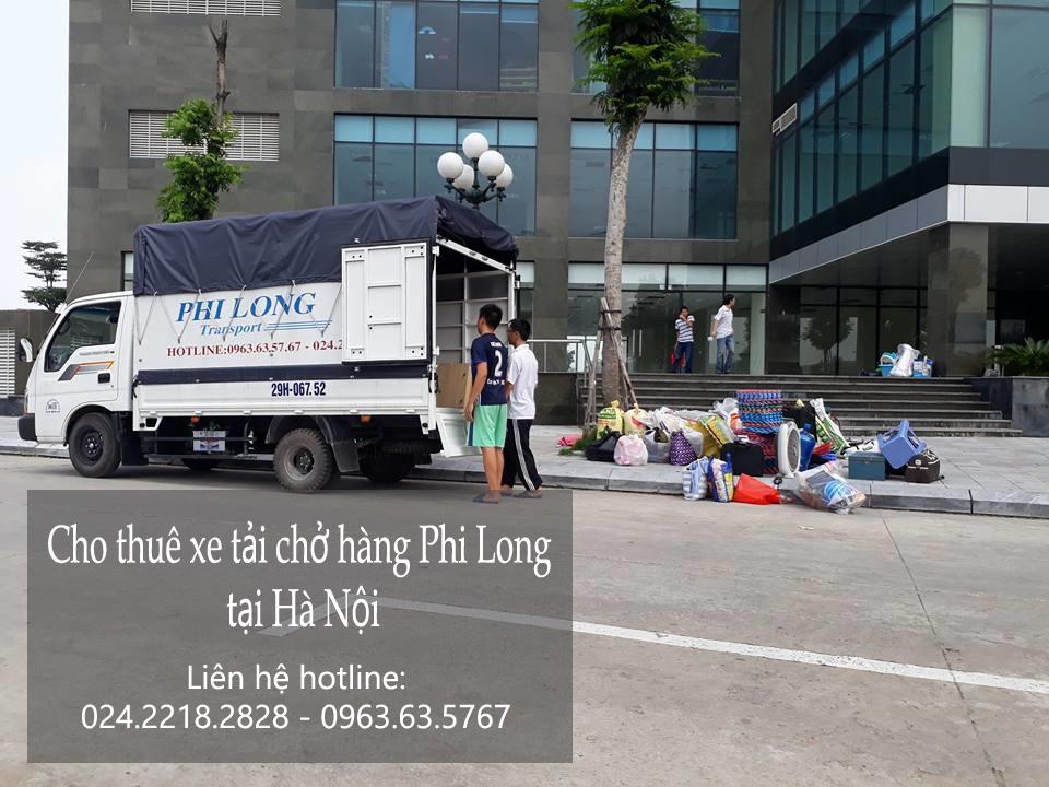 Dịch vụ cho thuê xe tải chở hàng uy tín nhất tại phố Khuất Duy Tiến