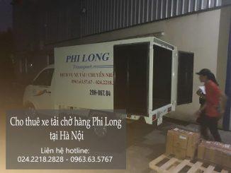 Cho thuê taxi tải Hà Nội tại phố Vạn Hạnh - 0963.63.5767