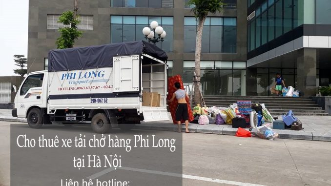 Dịch vụ taxi tải Hà Nội tại phố Lệ Mật-0963.63.5767