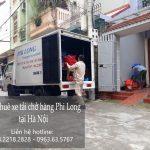 Cho thuê xe taxi tải chuyển nhà tại phố Hồng Mai - 0963.63.5767