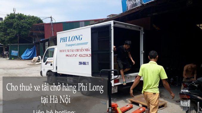 Cho thuê xe tải Hà Nội tại phố Lý Nam Đế